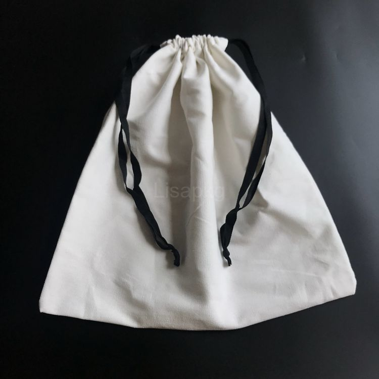 Top quality custom white cotton dust bags covers for handbags and shoe