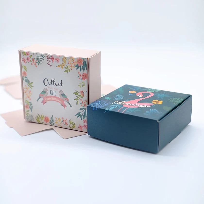 Custom print paper soap packaging box supplier