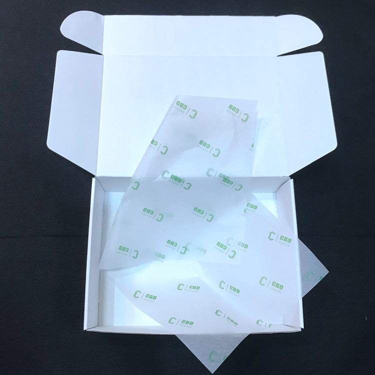 Custom Folding Corrugated white Paper Shipping Boxes With Logo