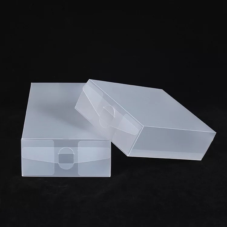 Custom Matte Frosted plastic pvc box packaging