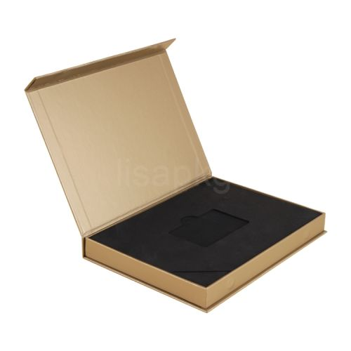 Custom design gold vip business card packaging box with insert